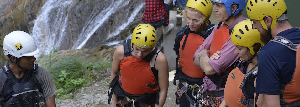 Canyoning Safety Talk